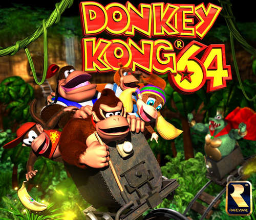 Image result for donkey kong 64