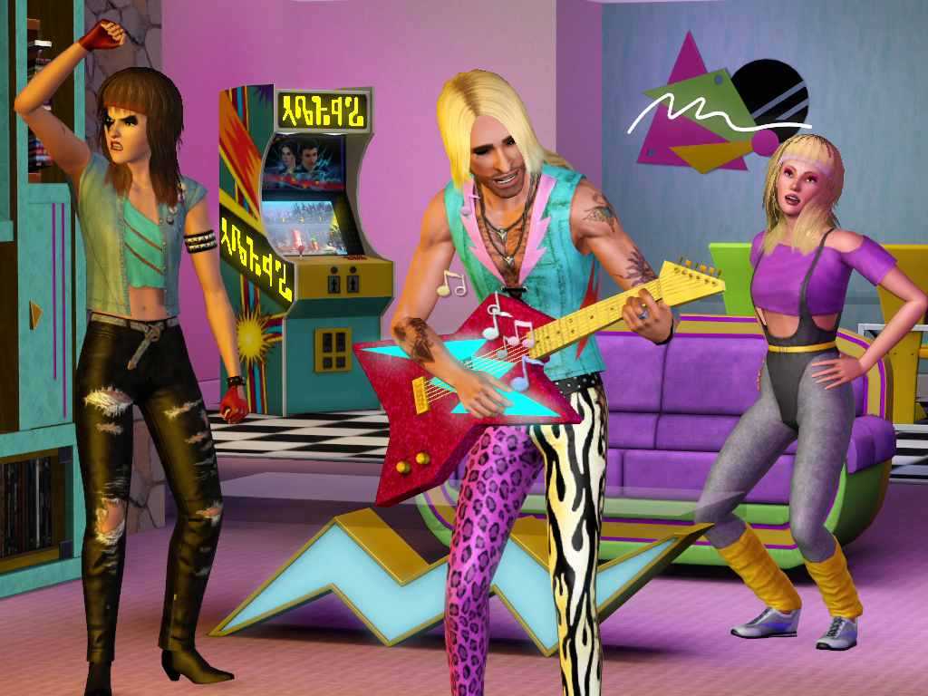 The Sims 3 70s 80s Amp 90s Stuff Pack Now Available