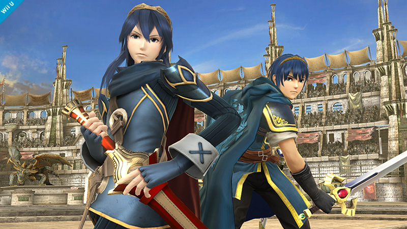 New Super Smash Bros Fighter Lucina Is Actually A Marth Clone