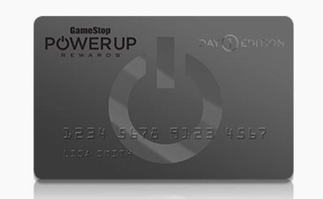 Gamestop Has A Day 1 Version Of Its Credit Card