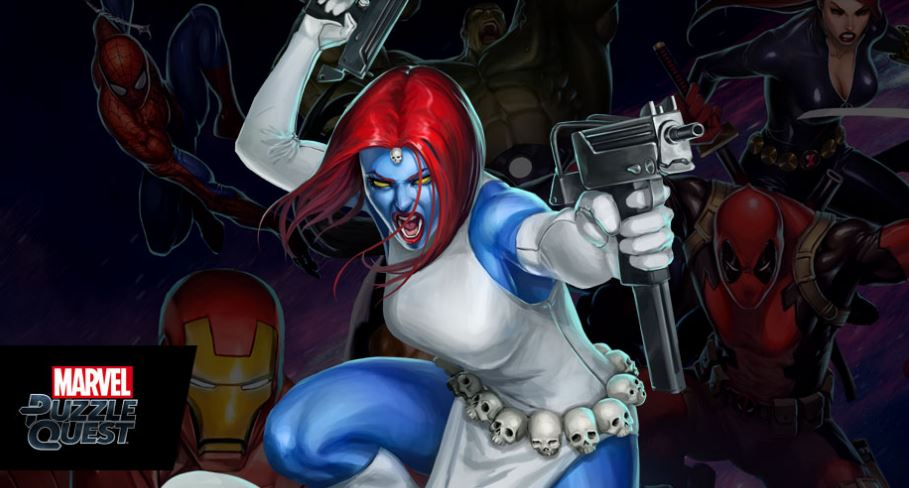 Mystique The Newest Character Coming To Marvel Puzzle Quest