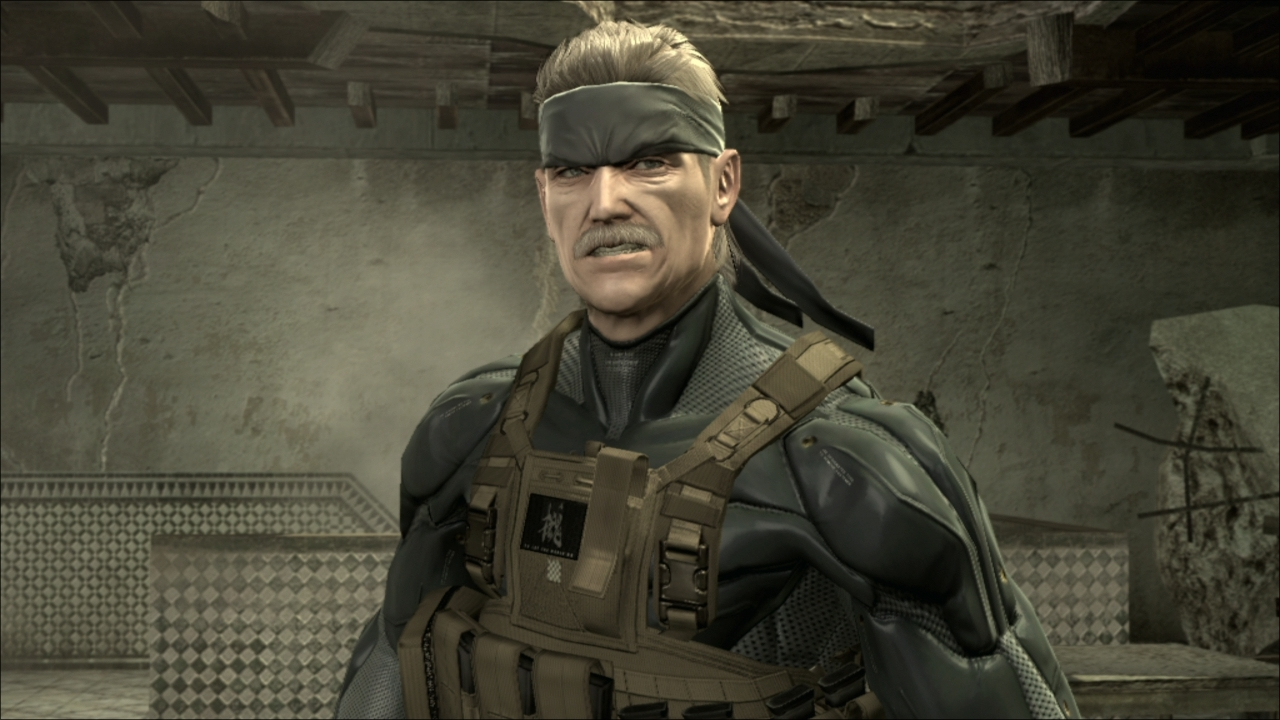 Image result for solid snake mgs4