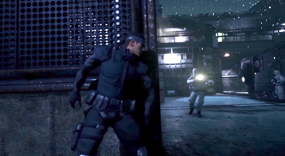 Metal Gear Solid Fans Create VR Experience Starring David