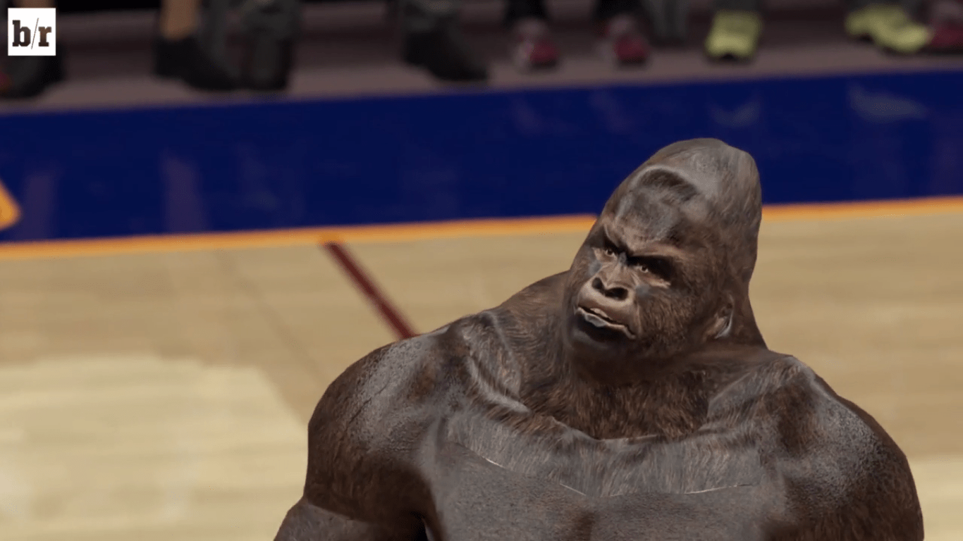 The Spirit Of Harambe Lives On In NBA 2K16