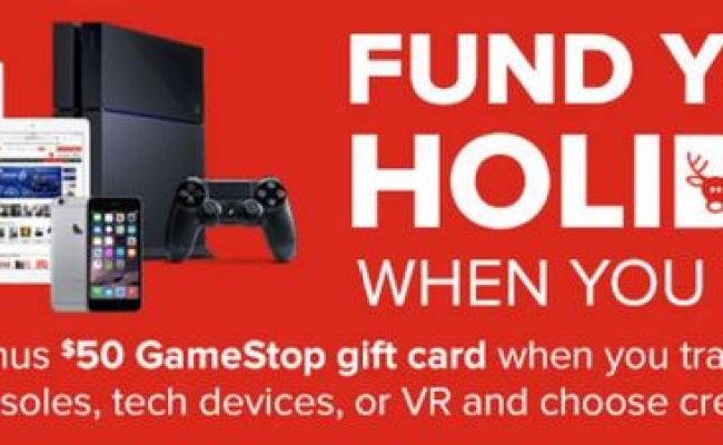 Gamestop Offering Extra 50 In Store Credit For Console