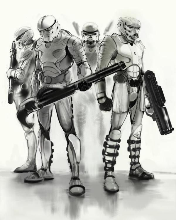 20 Star Wars Republic Commando Concept Art Pictures And Ideas On