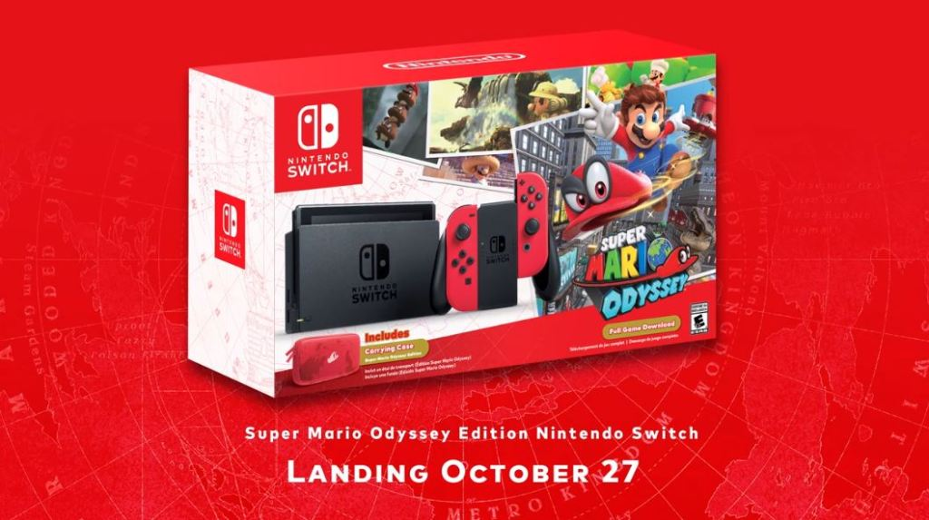 Image result for nintendo switch odyssey bundle