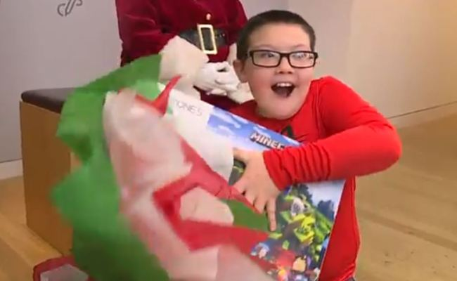 9 Year Old Boy Who Gave Up Xbox Christmas Gift To Donate
