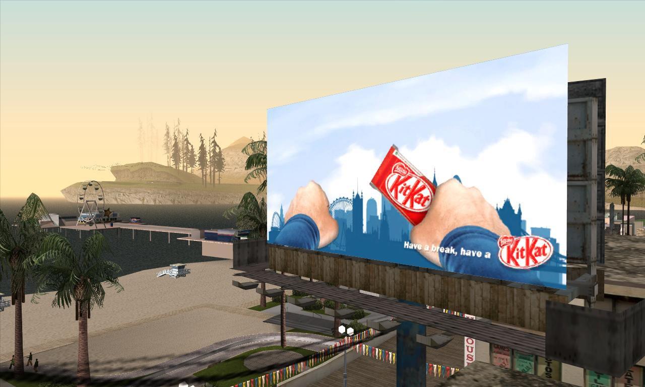 GTAGaragecom  San Andreas Billboards Screenshots