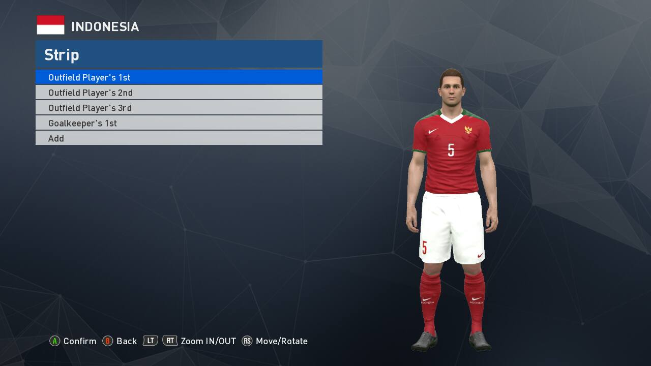 Download Gratis Timnas Indonesia Add On PES 2017