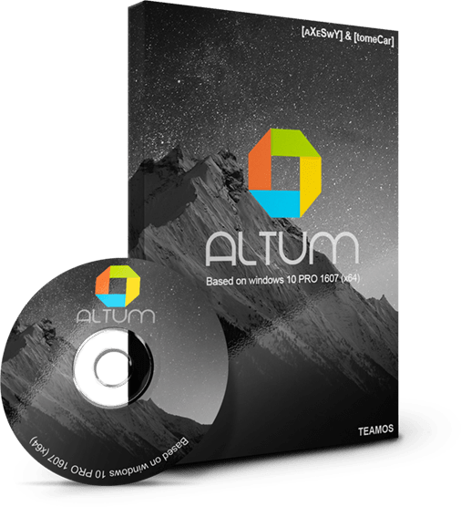Download Gratis Windows 10 Altum Pro (x64) Pre-Activated