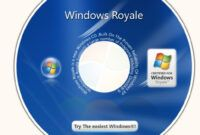 Download Gratis Windows XP SP3 7 Ultimate Royale (x86)