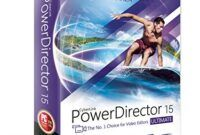 Download Gratis CyberLink PowerDirector Ultimate 15 Full Version