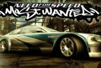 Download Gratis Need For Speed Most Wanted Black Edition Full Repack