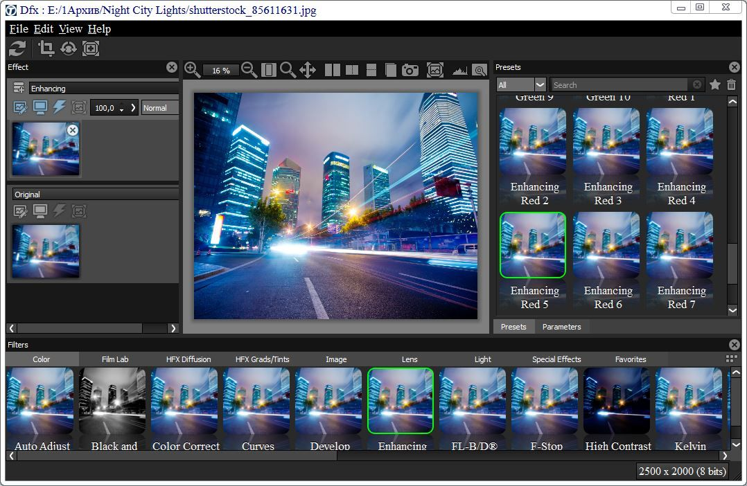 Download Gratis Digital Film Tools Tiffen DFX Full Version