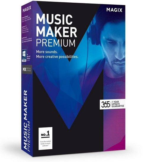 Download Gratis MAGIX Music Maker 2017 Premium Full Version