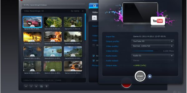 Download Gratis Mirillis Action! Video Recordings Export Window