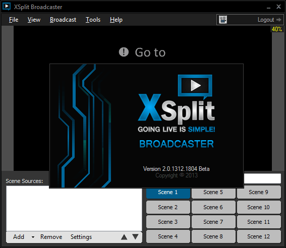 Download Gratis XSplit Broadcaster Full Version