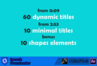 Download Gratis 70 Text Animation Pack (After Effects)