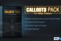 Download Gratis Callout Line Pack For Premiere (Videohive)