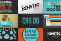 Download Gratis Kinetica – After Effects Project (Videohive)