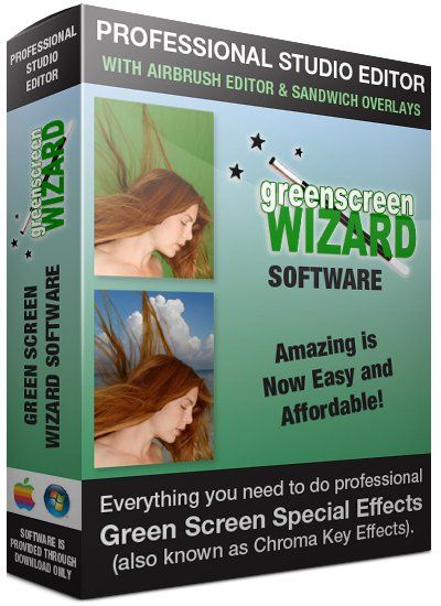 Download Gratis Green Screen Wizard Professional Full Version