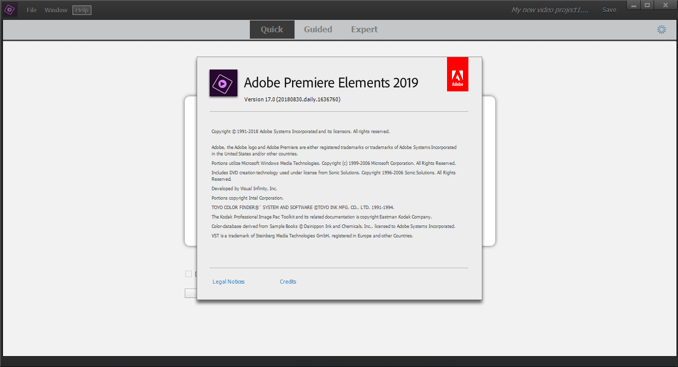 Download Gratis Adobe Premiere Elements 2019