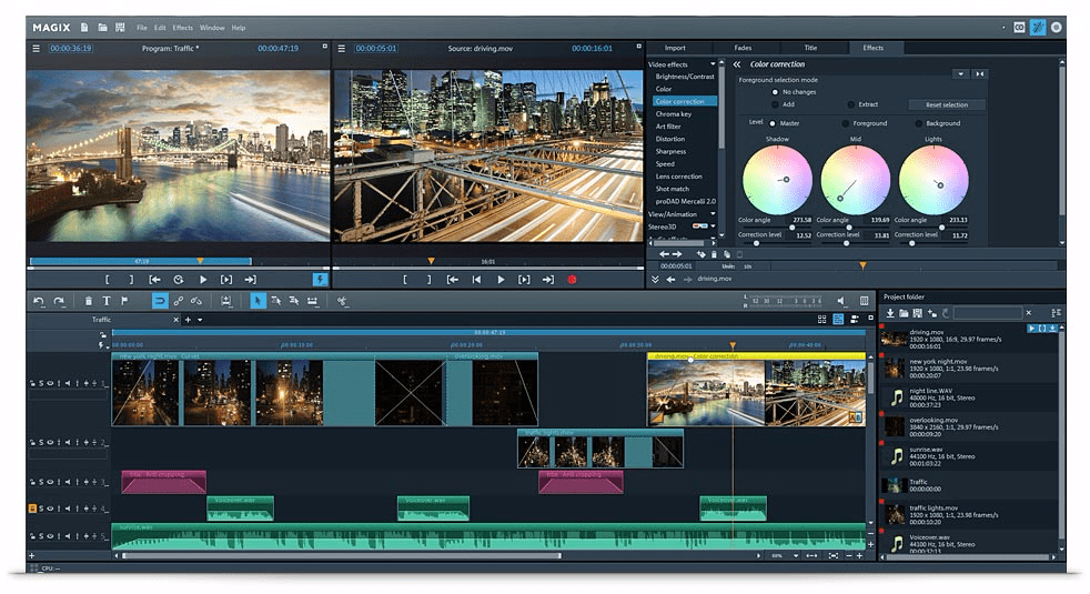 Download Gratis MAGIX Video Pro X10 Terbaru