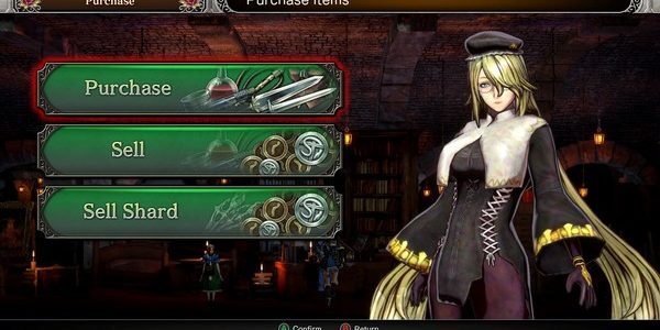 Bloodstained Ritual of The Night – 04