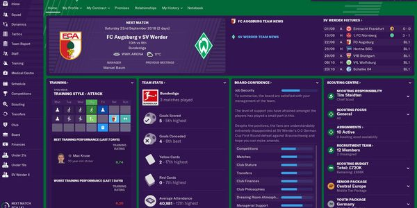 Football Manager 2019 – 04