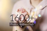 Download Gratis 1600+ Photo Overlay Pack for Photoshop