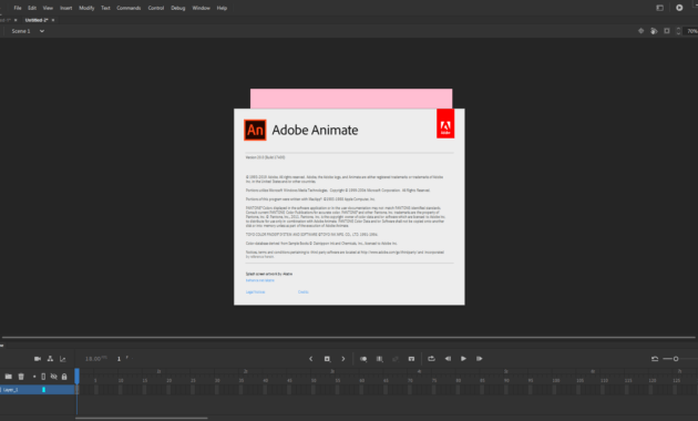 Download Gratis Adobe Animate 2020 Full Version