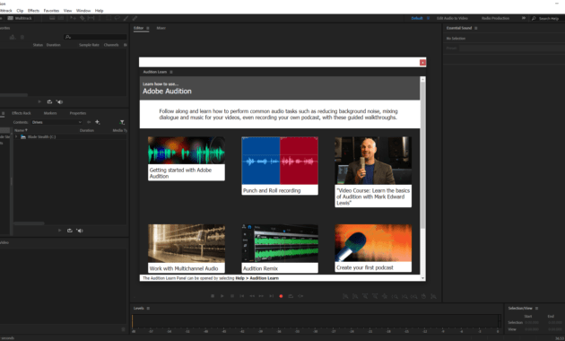 Download Gratis Adobe Audition 2020 Full Version