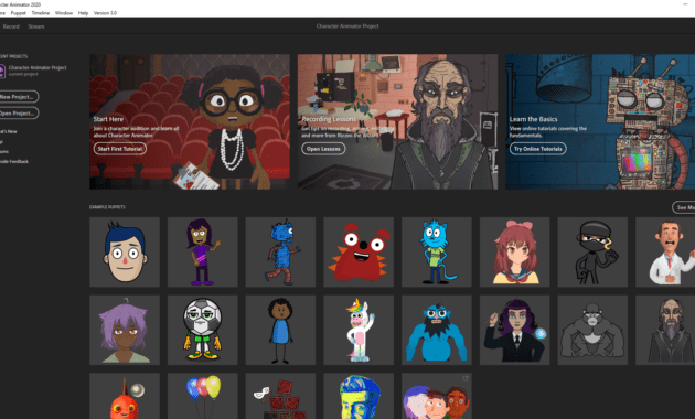 Download Gratis Adobe Character Animator 2020 Full Version