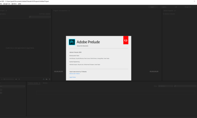 Download Gratis Adobe Prelude 2020 Full Version