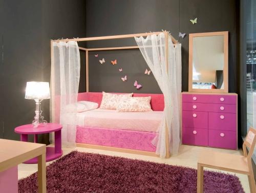 Il letto a baldacchino per bambini  Casa  Design