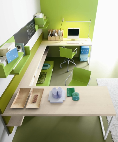Langolo studio per ragazzi  Casa  Design