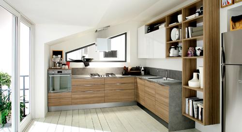 Colore e hitech la cucina  servita  Casa  Design