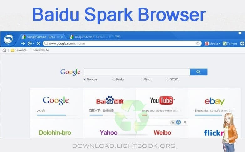 FRANAIS SPARK BROWSER TÉLÉCHARGER BAIDU