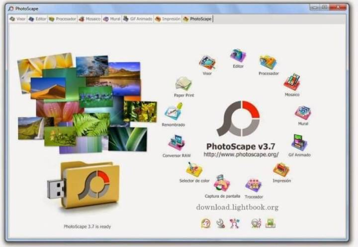 Descargar PhotoScape 2019 Editor de Fotos Gratis para PC y Mac