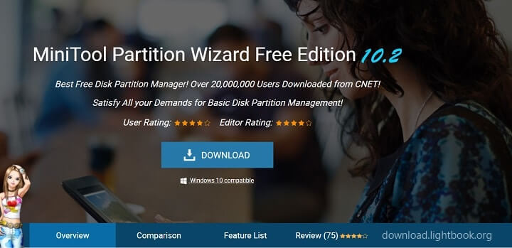 download minitool partition wizard manager