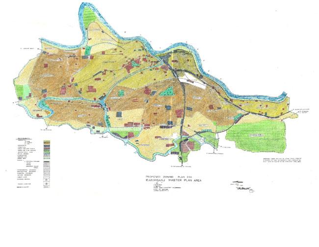 karimganj Master Development Plan Map