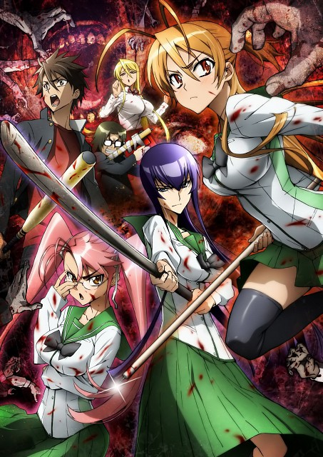High School Of The Dead Scan : school, School, Wallpaper, Gallery, Minitokyo
