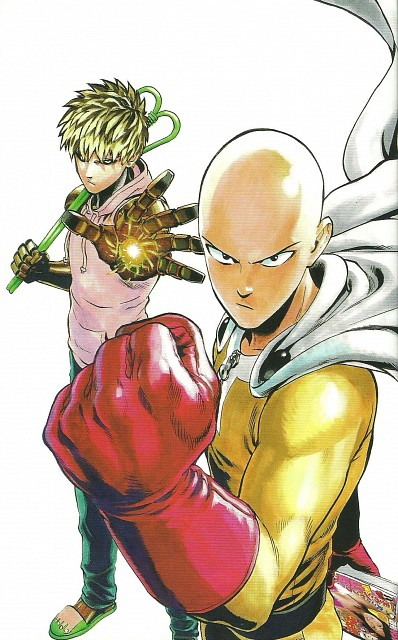 Scans One Punch Man : scans, punch, Onepunch-Man, Wallpaper, Gallery, Minitokyo