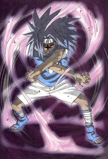 sasuke cursed seal wallpaper