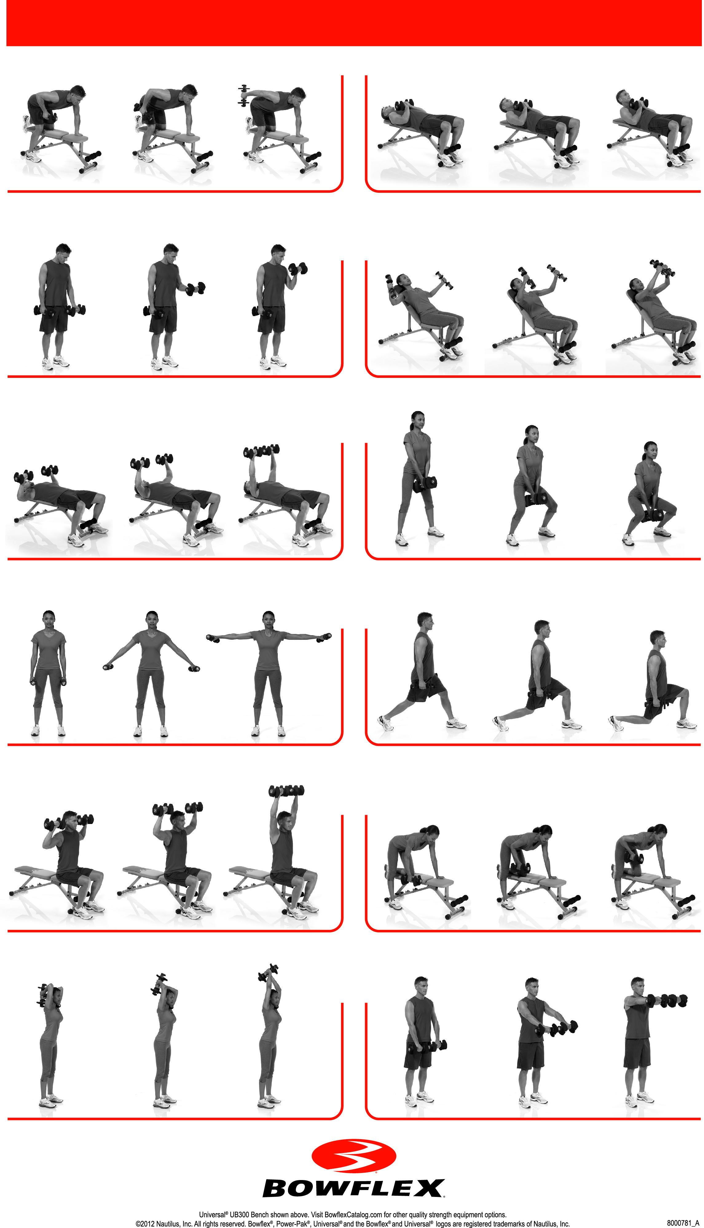 Printable Bowflex Workouts : printable, bowflex, workouts, Bowflex, Manuals