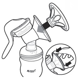 SCF330/20 Philips Avent Extractor de leche manual SCF330