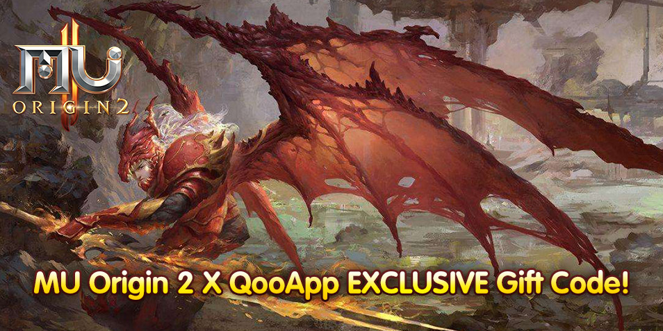 【QooApp Exclusives】MU ORIGIN 2 x QooApp Exclusive Launch Rewards!