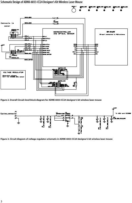 Wireless Mouse Schematic Diagram