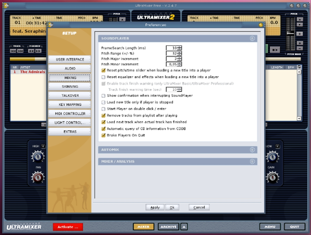 Download UltraMixer 4.1.3-RC